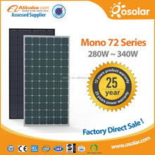 High efficiency best quality monocrystalline pv solar panel wholesale with best price | pv solar panel