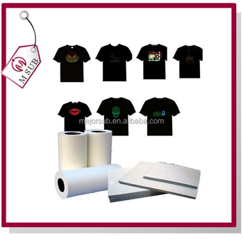 Best quality t shirt heat transfer paper for dark and for Best quality t shirt transfer paper