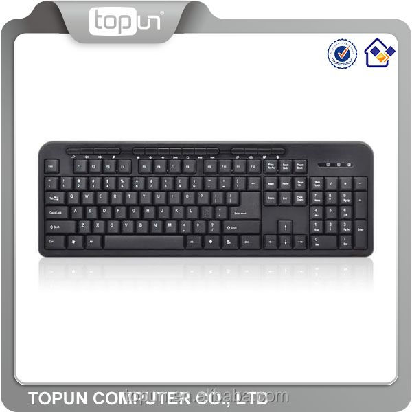New Ultra slim wired multimedia keyboard