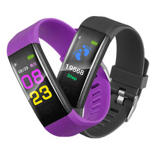 HOT selling 2018 color screen smart watch band smart bracelet fitness tracker 115plus