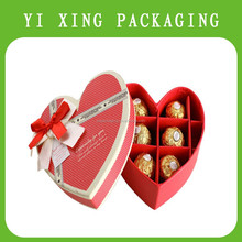 classical design customized a celebrations heart shape chocolate box