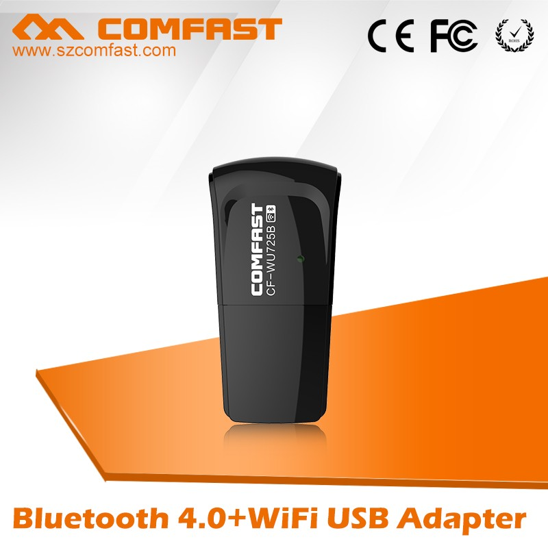 Best Price for Bluethooth 4.0 COMFAST CF-WU725B Wireless USB Adapter