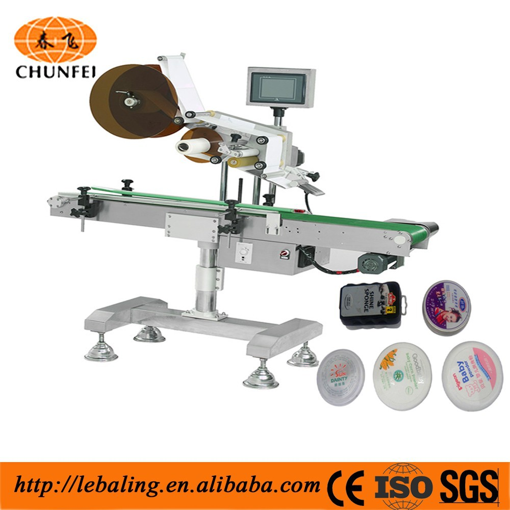 Latest Plane Products Glue labeling machine for Food/Cosmetic/Paper Box