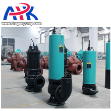 2900 rpm high flow sewage pump 26inch sand gravel 250 wq series submersible water