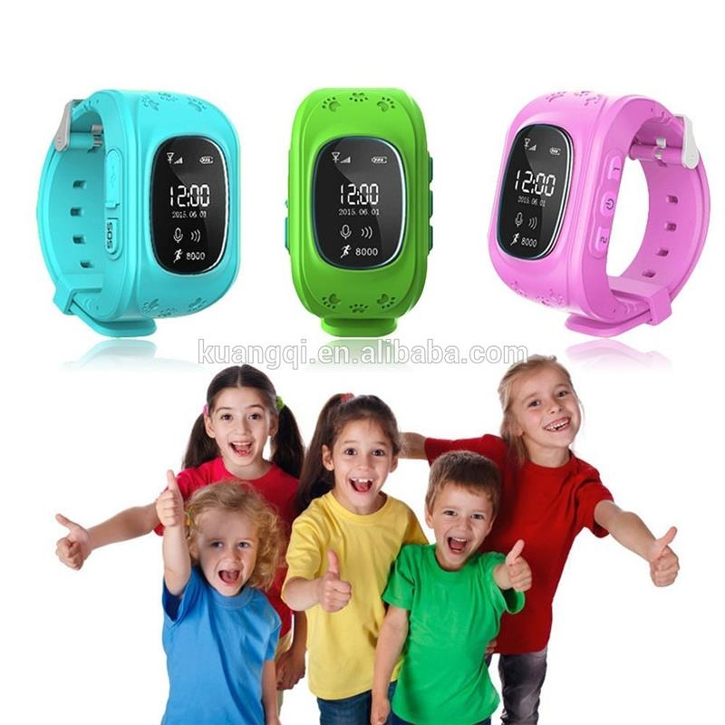 Plastic unlocked cell phone gps tracker gsm gprs sos wrist watch waterproof watches for teenagers gps lbs tracker smart watch