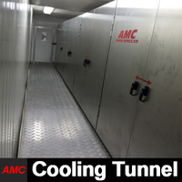 Quick Changeover And Cleaning Newest Process Technology Multifunction food dehydrator Cooling Tunnel For Production Line