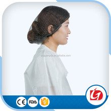 Disposable Hat Hair Net Non Woven Anti Dust Breathable Mob Cap