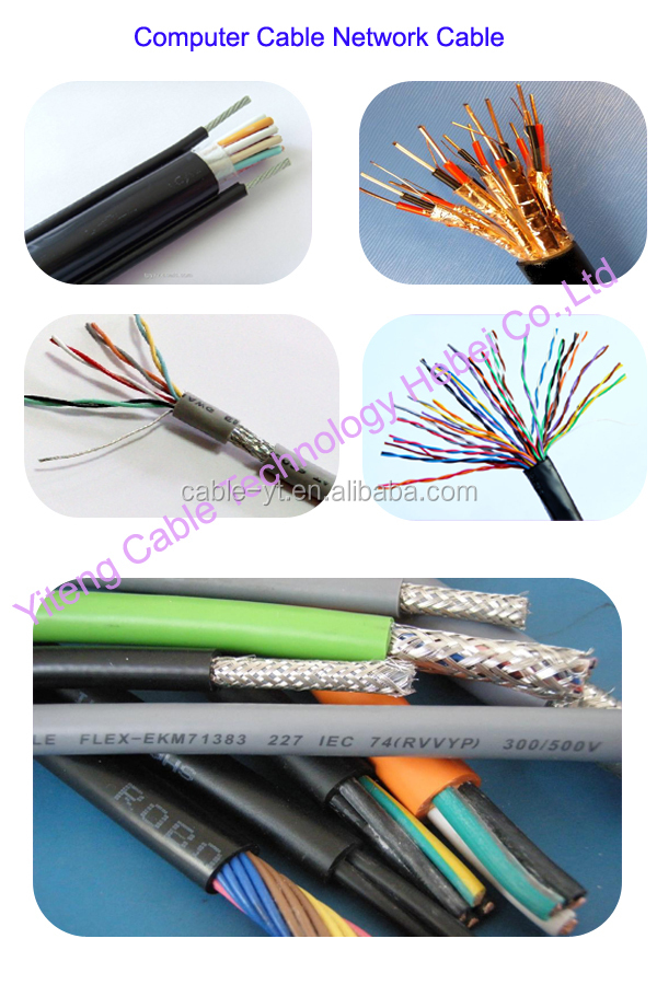 copper wire braided 0.5mm2 0.75sq mm Computer Shielded Cable