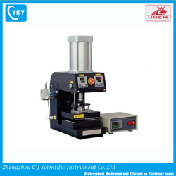 9 KN Pneumatic Heated Lab Press with Automatic Precision Pressure Programmable Controller