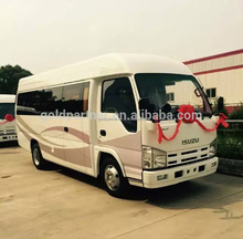 ISUZU Mini elf Urban logistics bus for loading goods or Passenger