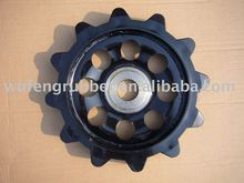 BV206 road wheel drive sprocket rubber track