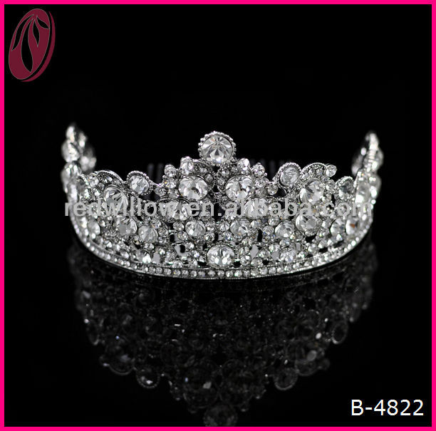 Real Diamond Beauty Queen Crowns Pageant Tiara For Sale