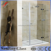 6mm tempered glass shower screen