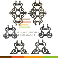 Cast iron and steel ornamental parts