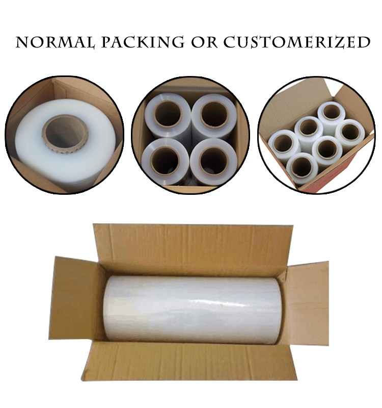 Factory Direct LLDPE Stretch Wrapping protective Film