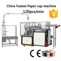 paper cup making machine for hot drink and cold drink