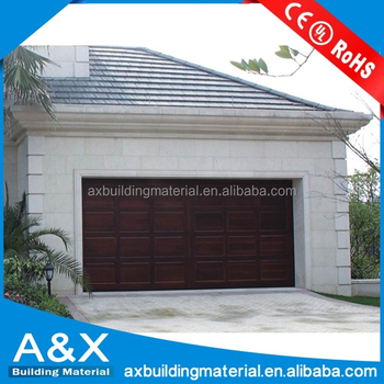 Nice Solid Wood Garage Door for Villa