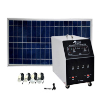controller high power split solar energy system with led lantern
