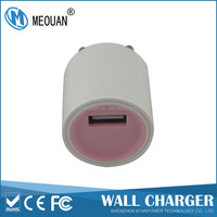 MEOUAN 5V1000mA EU plug wall charger adapter for mobile phone and tablets