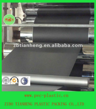 black HIPS rigid sheet for electronic packing