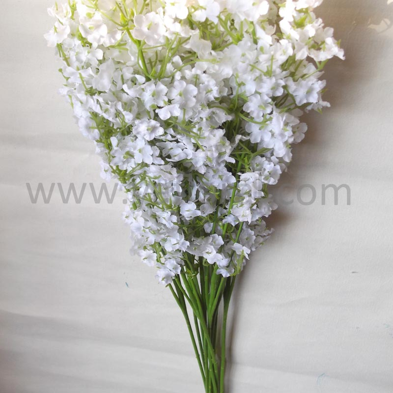 High quality artifical flowers bouquets used wedding decorations for sale baby breath flower