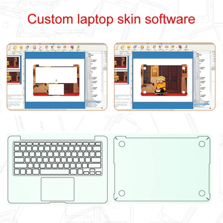 cell phone laptop sticker design software