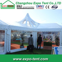 durable transparent luxury clear roof garden wedding canopy