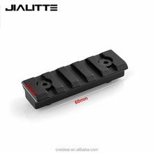 "Jialitte Outdoor Hunting 2"" 5 Slot Keymod Scope Tactical 60mm Picatinny Weaver Airsoftsports Gun Shooting Rail Mount J056"