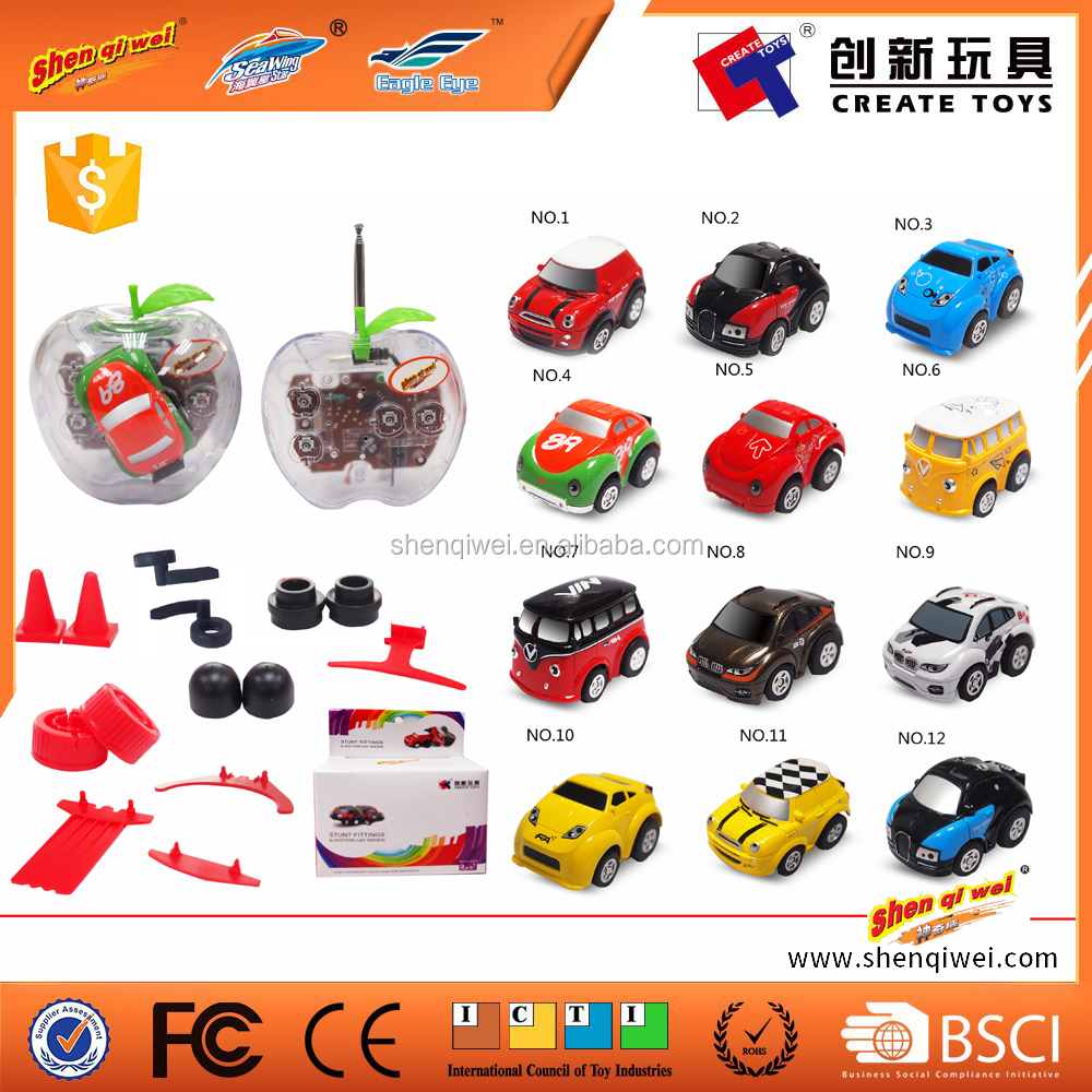 only 5 cm Radio control rc mini car rc cartoon for kids