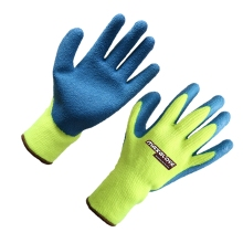 Hot sell rubber palm coated safety work glove