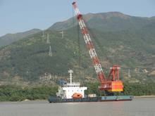 150 Ton Self Propelled Revolving Floating Crane