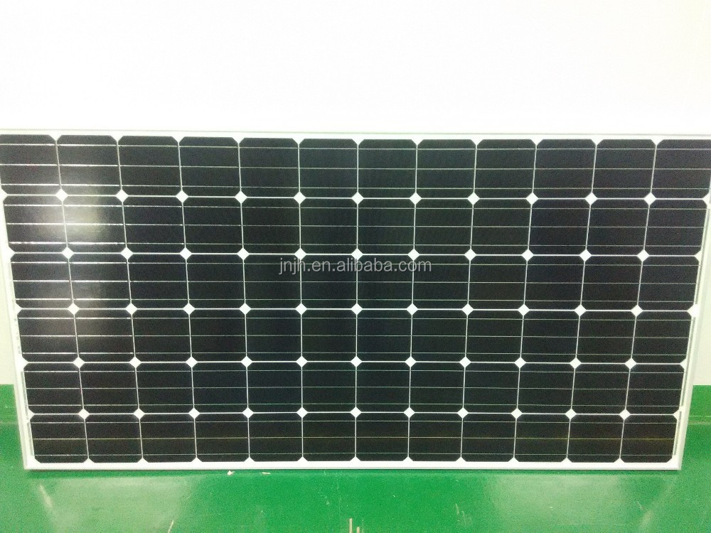 High cost performance 156x156 cell mono solar panels 250 watt