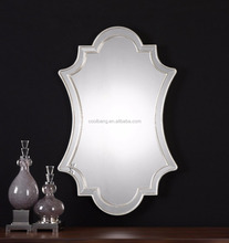 Coolbang CBM107 curved shaped glass frame vanity venetian wall mirror