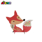 Promotional Christmas gifts home decoration DIY Fox craft dome cross stitch kits