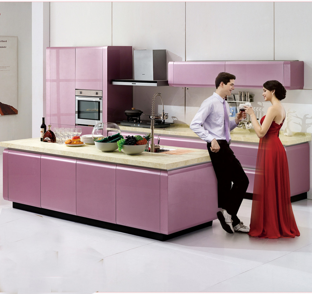 modern foshan kitchen furniture for large kitchen