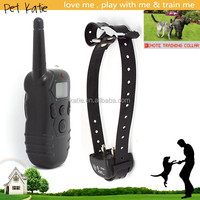 Best Price Dog Electronic Shock Training Collar with LCD Remote Control