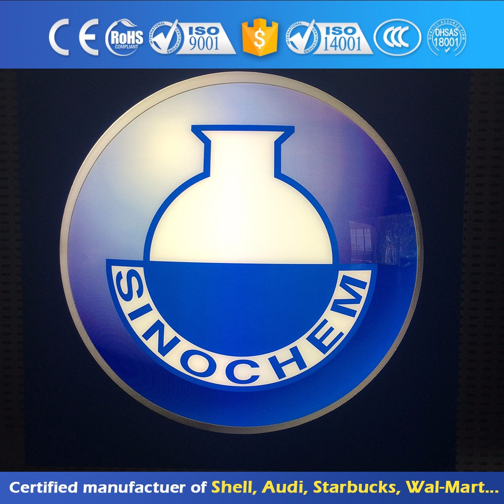 Hotel Vacuum Thermoforming Light Box Custom Attractive Sign Board Led Writing Board