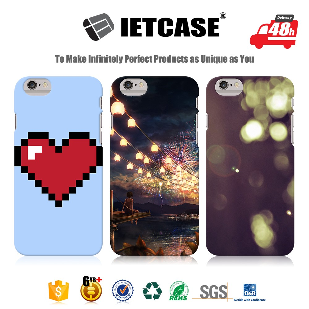 Hot cover 2016 phone accessory mobile phone case for iphone china supplier 3D mobile cover full printing for iphone 6