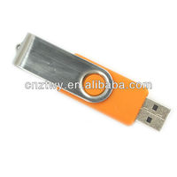 Cheapest logo free high speed swivel usb2.0 flash disk wholesales