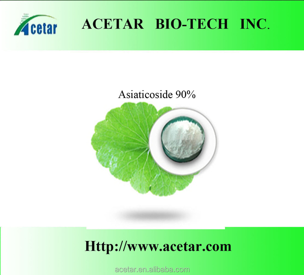 100% Natural Centella Asiatica Extract Powder 10% asiaticoside -Iso Haccp, Kosher , Halal cert. factory