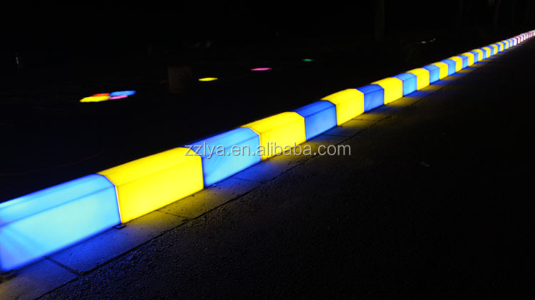 road curb stone led pavement plastic kerb lighting buy curb stone