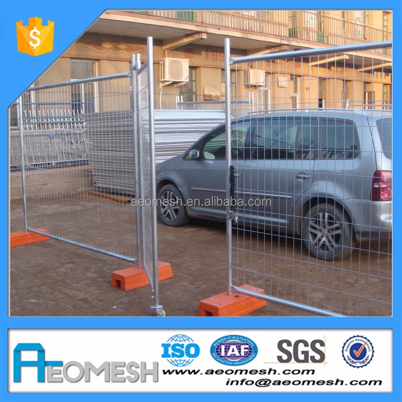 Plastic or Metal Temporary Fence Post Base