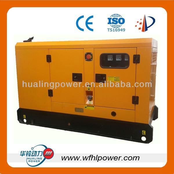 10kw to 1000kw open and silent type diesel generator set