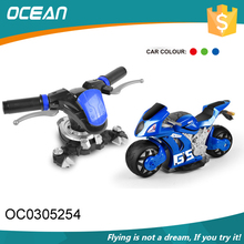 Mode plastic 4D rc portable motor mini cross motorcycle with frequency 2.4G