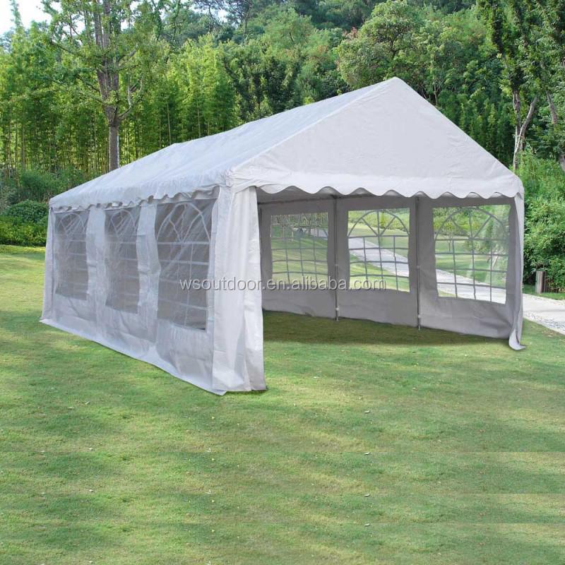Wholesale high quality 4x6m white pvc wedding tents for Carport 4x6m