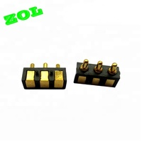 3 PIN SMD TYPE POGO PIN CONNECTOR