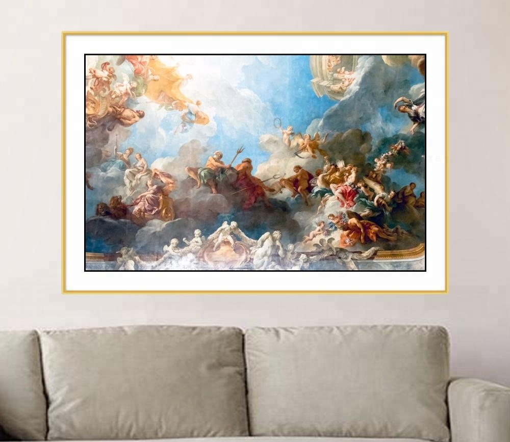Classical style oil painting canvas fabric designs wall <strong>art</strong>