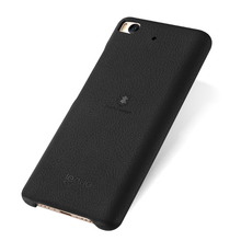 Lenuo ultra thin soft back cover PU leather for xiaomi 5S phone case