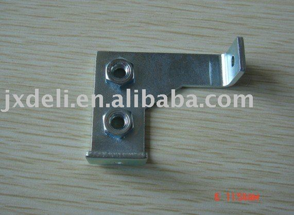 galvanized steel bracket with welding nut