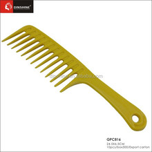 Classic Hair salon plastic Comb hairdresser comb hair comb with wide tooth